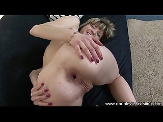 Doubleviewcasting com Gina gets herself an anal lover pov