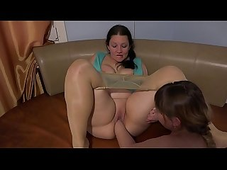 Deep fisting and pussy licking. Fat lesbian helped a mature girlfriend get a stormy..