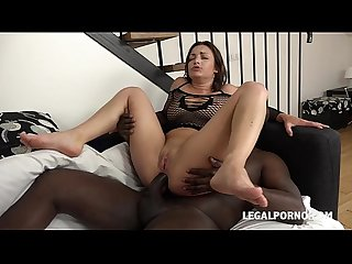 Alexis Cherry blacked and sodomized by 3 Black Cocks