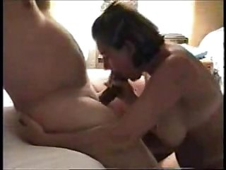 Amateur wife cocksucking and oral cumshot