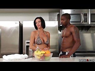 Isiah Maxwells massive cock anal plunge Veronica Avluv so fucking deep!