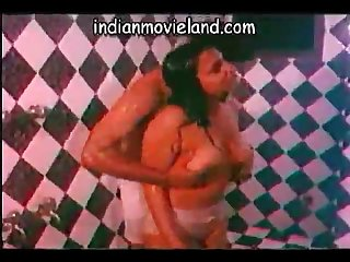 Romance in bath room old movie