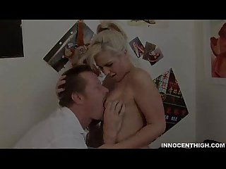 Horny blonde tara lynn fucked hard by her professor