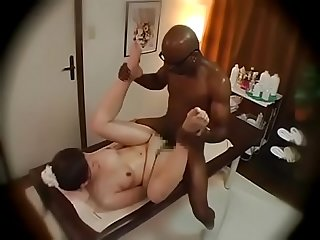 Japanese interracial massage and fuck found at hornydate eu