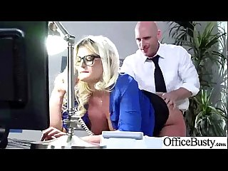 julie cash slut girl with big juggs bang in office video 23