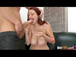 Red head jessica rabbit gets fucked hard in her first porno 8