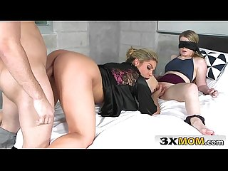 Make-up FFM Threesome Involving Guy's Step Mom - Nikki Capone, Lexxxus Adams