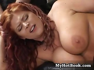 Eden is a big beautiful redhead with huge natural