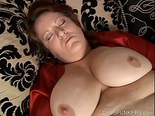 Big beautiful busty mature amateur