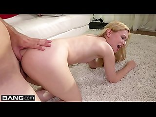 Kennedy kressler bends over for big cock thumb in her Ass