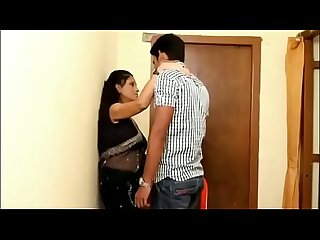 Indian malu bhabhi sex with young teacher