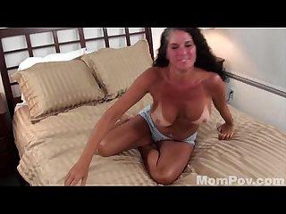 Big tit tanline milf sucks