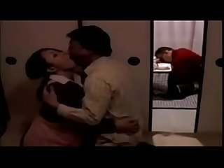 Japanese mature wife seduces neighbor to comfort her when her husband is sleep