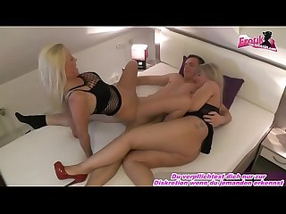 2 deutsche blonde milfs dreier Privat sex real amateur mff