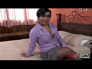 LatinChili Nice and Round Mature Butt Striptease