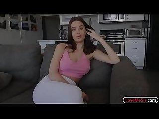 Hot ass stepsis lana rhoades gets banged by fat hard dick