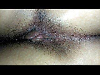 El culo de mi novia despues de una buena cogida corto pero caliente