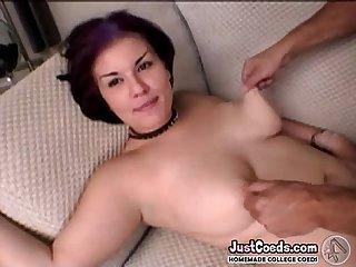 Big tits emo girlfriend taking blowjob and homemade porn sad sex