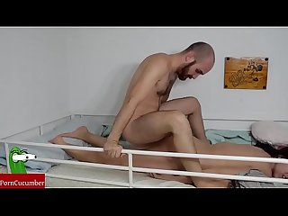 Late fucked on the bunk. Homemade voyeur taped an amateur gf with a hiddenRAF045