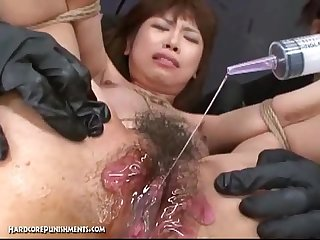 Japanese bondage sex extreme bdsm punishment of asari pt 8