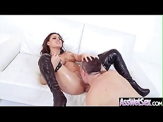 Big Ass Girl (Eva Angelina) Get Oiled And Enjoy Anal Hardcore Sex video-13