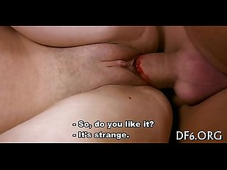 Virgin dirty cleft vs dildo
