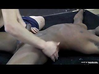 a hot black slave