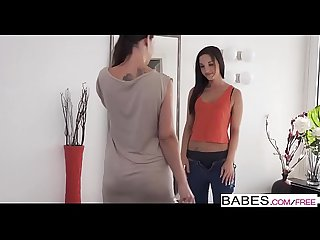 Babes - Step Mom Lessons - Ladies First starring Nick Gill and Kristy Black and Caroline Adrolino cl