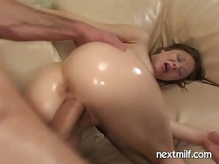 Horny wife fucking big dick