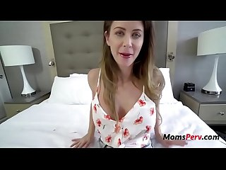 Hot Brunette Mom Caught Cheating & Punished By s.- Emily Addis.
