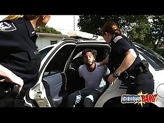 Nasty milf officer want to fuck a guy a from the hood