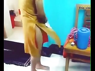 indian girl removing dress in front of her bf with hindi audio