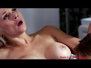 Milf sarah introduces her daughter to the divine pleasures of tribbing