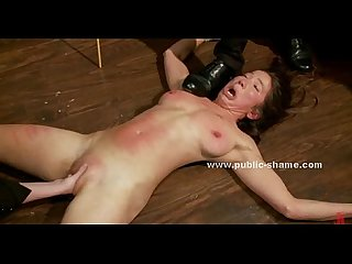 Asian sex slave bound and humiliated