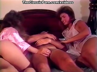 Hot threesome fun in the bedroom