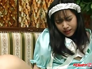 Japanese Maid Doggystyle (Uncensored JAV)