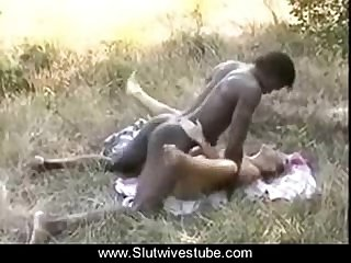 Cuckold Films His Slut French Wife With the African Bull www.Slutwivestube.com