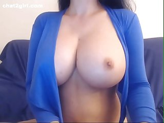 Blue angel hot boobs