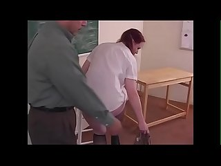 Spanking roleplay young readhead gets spanked during schoolgirl roleplay justbangme com