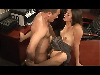 Dirty little slut seducing her teacher
