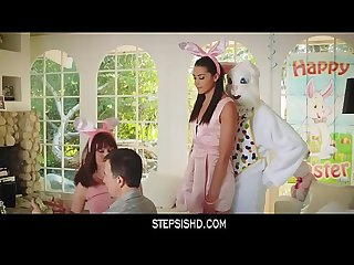HOT TEEN FUCKED BY EASTER BUNNY UNCLE-сегмент 1