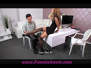 Femaleagent asian casting fucks female agent amazingly well