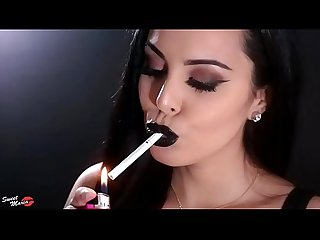 Best one girl smoking compilation on the net