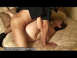 Big boobs dirty brunette gets a big cock
