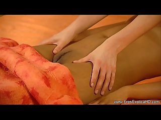 Lesbian girlfriend massage