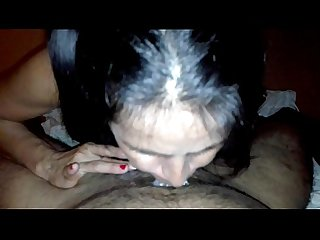 Nuestro mejor Video comma le acabo en la boca y se toma toda mi leche