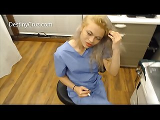 Destiny Cruz As Naughty Nurse!