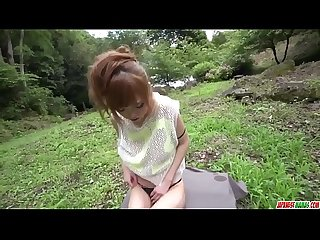 Fantasy outdoor sex in pov with slim mikuru shiina more at japanesemamas com