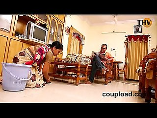 Panimanishi romance in bedroom by house owner