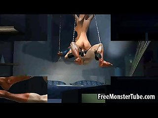 Hot 3d blonde Babe gets fucked hard by spidermanmyname high 2